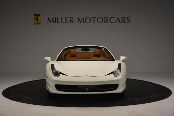 Used 2012 Ferrari 458 Spider for sale Sold at Alfa Romeo of Greenwich in Greenwich CT 06830 12