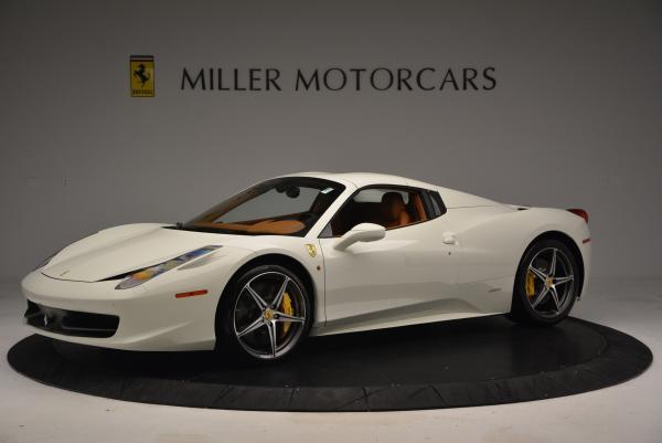 Used 2012 Ferrari 458 Spider for sale Sold at Alfa Romeo of Greenwich in Greenwich CT 06830 14