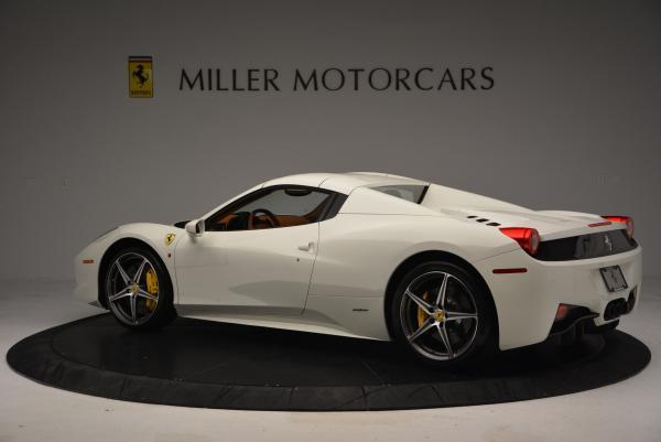 Used 2012 Ferrari 458 Spider for sale Sold at Alfa Romeo of Greenwich in Greenwich CT 06830 16