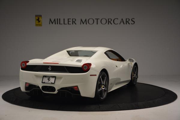 Used 2012 Ferrari 458 Spider for sale Sold at Alfa Romeo of Greenwich in Greenwich CT 06830 19