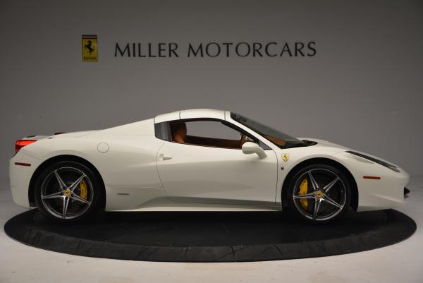 Used 2012 Ferrari 458 Spider for sale Sold at Alfa Romeo of Greenwich in Greenwich CT 06830 21