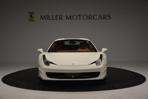 Used 2012 Ferrari 458 Spider for sale Sold at Alfa Romeo of Greenwich in Greenwich CT 06830 24