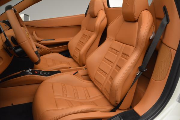 Used 2012 Ferrari 458 Spider for sale Sold at Alfa Romeo of Greenwich in Greenwich CT 06830 27