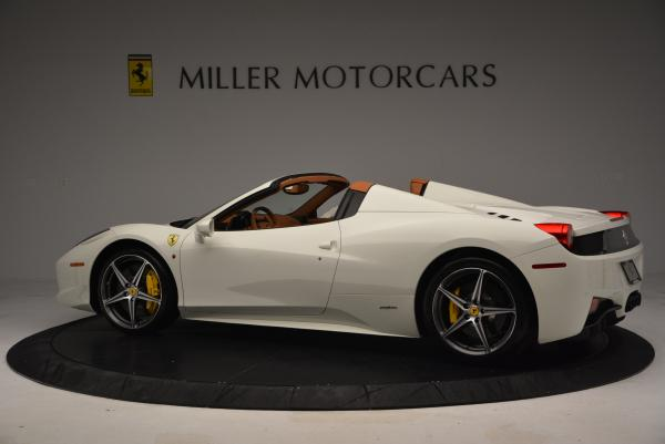 Used 2012 Ferrari 458 Spider for sale Sold at Alfa Romeo of Greenwich in Greenwich CT 06830 4