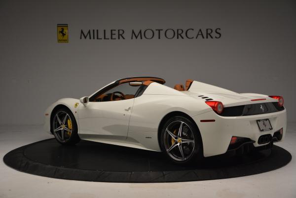 Used 2012 Ferrari 458 Spider for sale Sold at Alfa Romeo of Greenwich in Greenwich CT 06830 5