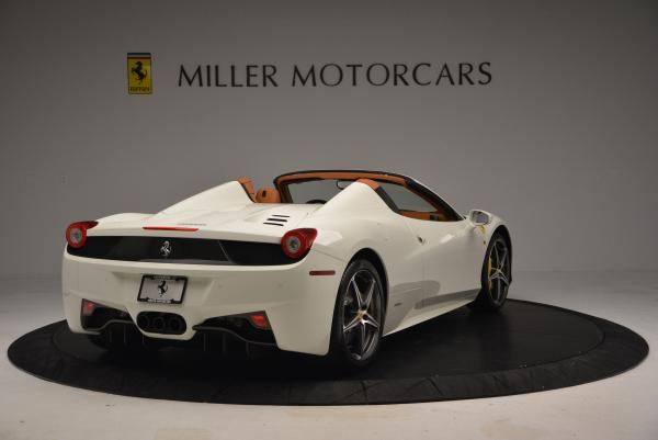 Used 2012 Ferrari 458 Spider for sale Sold at Alfa Romeo of Greenwich in Greenwich CT 06830 7