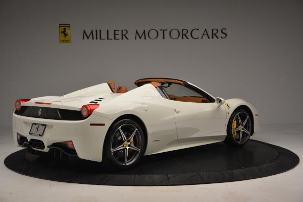 Used 2012 Ferrari 458 Spider for sale Sold at Alfa Romeo of Greenwich in Greenwich CT 06830 8