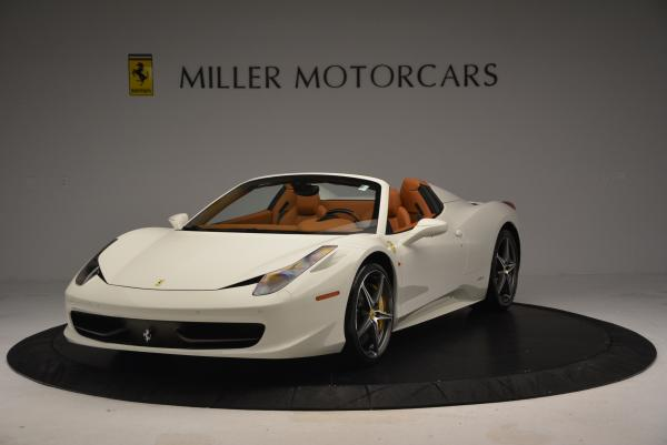 Used 2012 Ferrari 458 Spider for sale Sold at Alfa Romeo of Greenwich in Greenwich CT 06830 1
