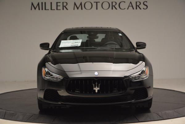 New 2017 Maserati Ghibli SQ4 S Q4 Nerissimo Edition for sale Sold at Alfa Romeo of Greenwich in Greenwich CT 06830 12