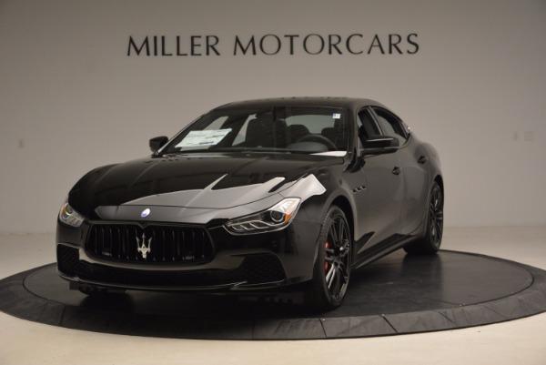 New 2017 Maserati Ghibli SQ4 S Q4 Nerissimo Edition for sale Sold at Alfa Romeo of Greenwich in Greenwich CT 06830 1
