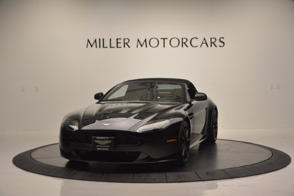 Used 2015 Aston Martin V12 Vantage S Roadster for sale Sold at Alfa Romeo of Greenwich in Greenwich CT 06830 13