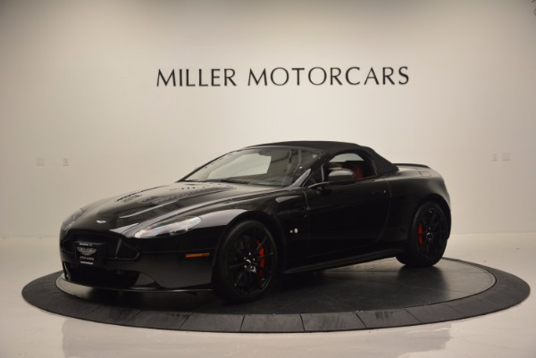 Used 2015 Aston Martin V12 Vantage S Roadster for sale Sold at Alfa Romeo of Greenwich in Greenwich CT 06830 14