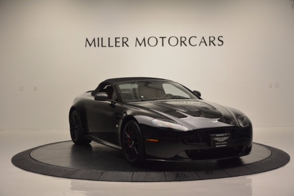 Used 2015 Aston Martin V12 Vantage S Roadster for sale Sold at Alfa Romeo of Greenwich in Greenwich CT 06830 17
