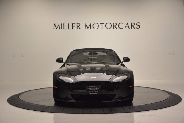 Used 2015 Aston Martin V12 Vantage S Roadster for sale Sold at Alfa Romeo of Greenwich in Greenwich CT 06830 18