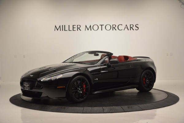 Used 2015 Aston Martin V12 Vantage S Roadster for sale Sold at Alfa Romeo of Greenwich in Greenwich CT 06830 2