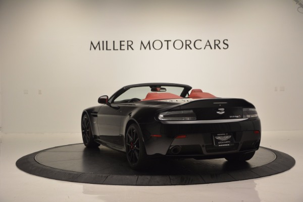 Used 2015 Aston Martin V12 Vantage S Roadster for sale Sold at Alfa Romeo of Greenwich in Greenwich CT 06830 5