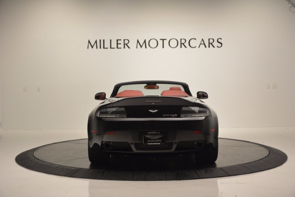 Used 2015 Aston Martin V12 Vantage S Roadster for sale Sold at Alfa Romeo of Greenwich in Greenwich CT 06830 6