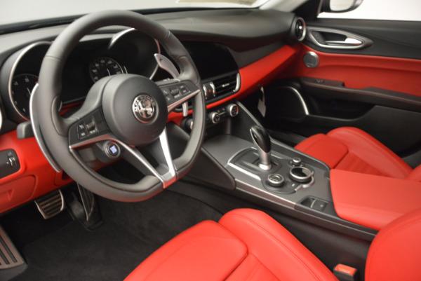 New 2017 Alfa Romeo Giulia Ti Q4 for sale Sold at Alfa Romeo of Greenwich in Greenwich CT 06830 15