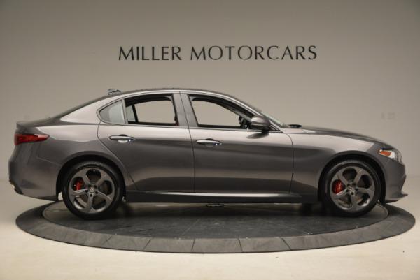 New 2017 Alfa Romeo Giulia Ti Q4 for sale Sold at Alfa Romeo of Greenwich in Greenwich CT 06830 9