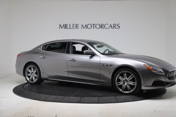 Used 2017 Maserati Quattroporte SQ4 GranLusso/ Zegna for sale $62,900 at Alfa Romeo of Greenwich in Greenwich CT 06830 10