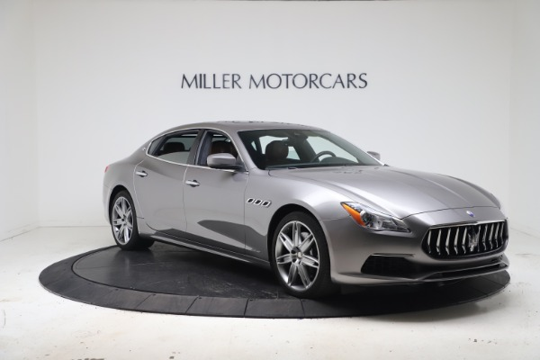 New 2017 Maserati Quattroporte SQ4 GranLusso/ Zegna for sale Sold at Alfa Romeo of Greenwich in Greenwich CT 06830 11
