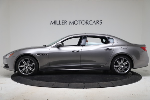 New 2017 Maserati Quattroporte SQ4 GranLusso/ Zegna for sale Sold at Alfa Romeo of Greenwich in Greenwich CT 06830 3