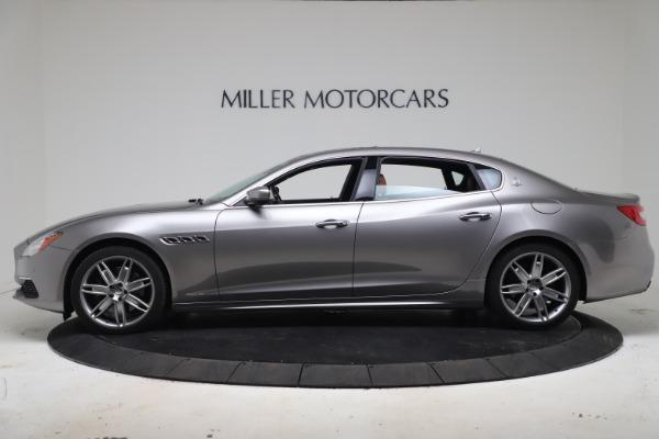 Used 2017 Maserati Quattroporte SQ4 GranLusso/ Zegna for sale $62,900 at Alfa Romeo of Greenwich in Greenwich CT 06830 3