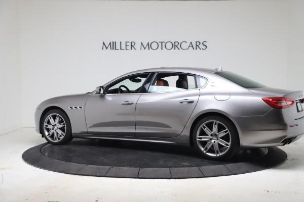 Used 2017 Maserati Quattroporte SQ4 GranLusso/ Zegna for sale $62,900 at Alfa Romeo of Greenwich in Greenwich CT 06830 4