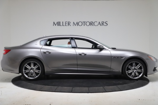 New 2017 Maserati Quattroporte SQ4 GranLusso/ Zegna for sale Sold at Alfa Romeo of Greenwich in Greenwich CT 06830 9