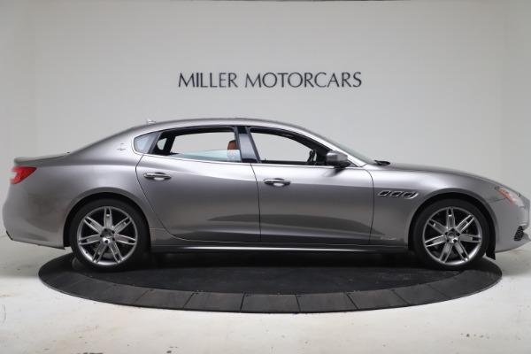 Used 2017 Maserati Quattroporte SQ4 GranLusso/ Zegna for sale $62,900 at Alfa Romeo of Greenwich in Greenwich CT 06830 9