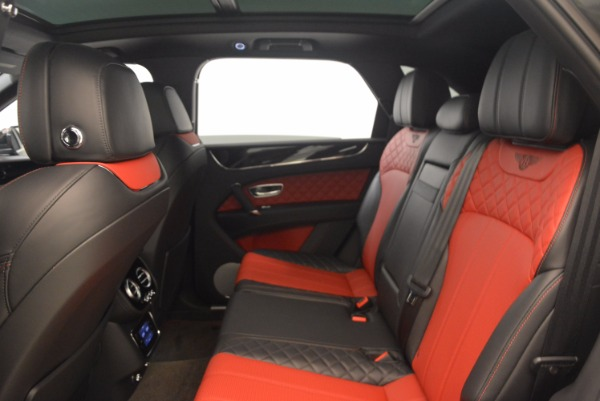 Used 2018 Bentley Bentayga W12 Signature for sale Sold at Alfa Romeo of Greenwich in Greenwich CT 06830 28