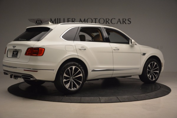 New 2018 Bentley Bentayga W12 Signature for sale Sold at Alfa Romeo of Greenwich in Greenwich CT 06830 8