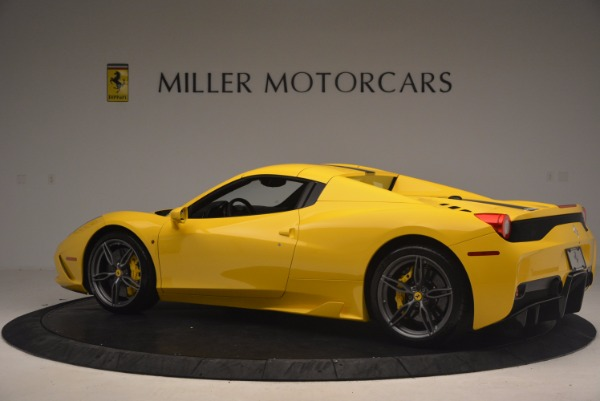 Used 2015 Ferrari 458 Speciale Aperta for sale Sold at Alfa Romeo of Greenwich in Greenwich CT 06830 16