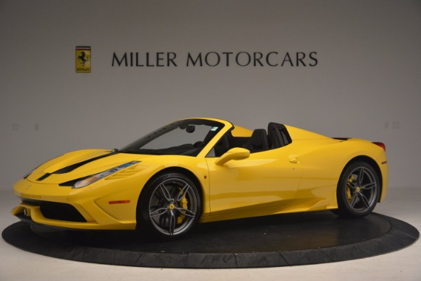 Used 2015 Ferrari 458 Speciale Aperta for sale Sold at Alfa Romeo of Greenwich in Greenwich CT 06830 2