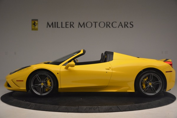 Used 2015 Ferrari 458 Speciale Aperta for sale Sold at Alfa Romeo of Greenwich in Greenwich CT 06830 3