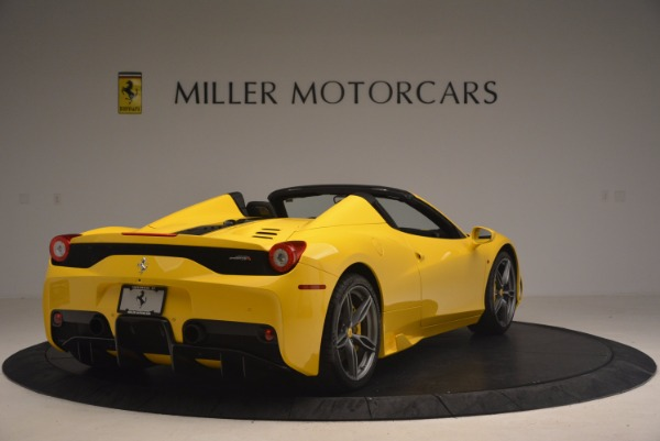 Used 2015 Ferrari 458 Speciale Aperta for sale Sold at Alfa Romeo of Greenwich in Greenwich CT 06830 7