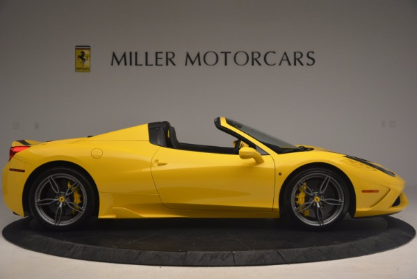 Used 2015 Ferrari 458 Speciale Aperta for sale Sold at Alfa Romeo of Greenwich in Greenwich CT 06830 9