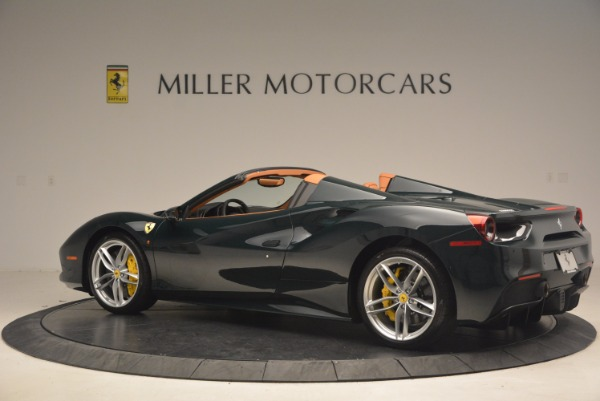 Used 2016 Ferrari 488 Spider for sale Sold at Alfa Romeo of Greenwich in Greenwich CT 06830 4