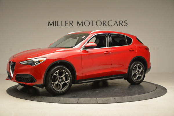 New 2018 Alfa Romeo Stelvio Q4 for sale Sold at Alfa Romeo of Greenwich in Greenwich CT 06830 2