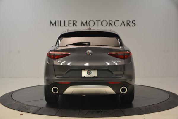 New 2018 Alfa Romeo Stelvio Ti Q4 for sale Sold at Alfa Romeo of Greenwich in Greenwich CT 06830 6