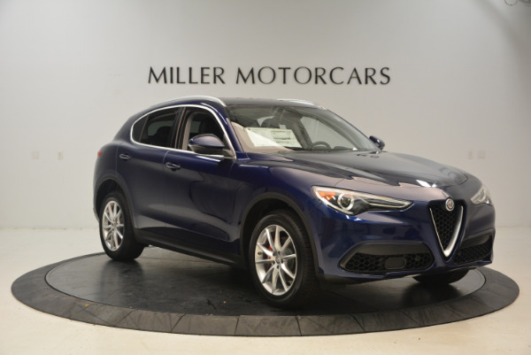 New 2018 Alfa Romeo Stelvio Ti Q4 for sale Sold at Alfa Romeo of Greenwich in Greenwich CT 06830 11
