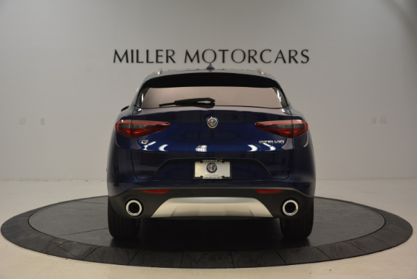 New 2018 Alfa Romeo Stelvio Ti Q4 for sale Sold at Alfa Romeo of Greenwich in Greenwich CT 06830 6