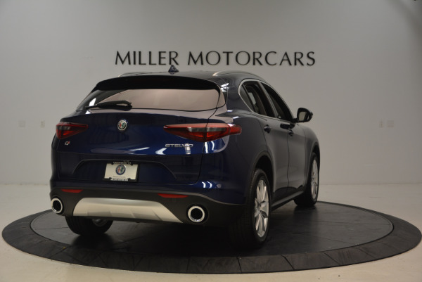 New 2018 Alfa Romeo Stelvio Ti Q4 for sale Sold at Alfa Romeo of Greenwich in Greenwich CT 06830 7