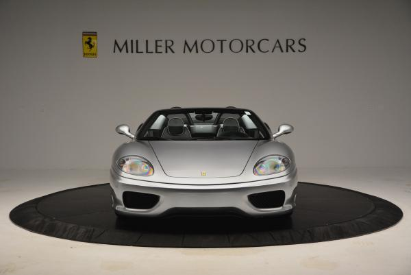 Used 2004 Ferrari 360 Spider 6-Speed Manual for sale Sold at Alfa Romeo of Greenwich in Greenwich CT 06830 12