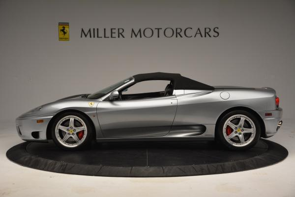 Used 2004 Ferrari 360 Spider 6-Speed Manual for sale Sold at Alfa Romeo of Greenwich in Greenwich CT 06830 15