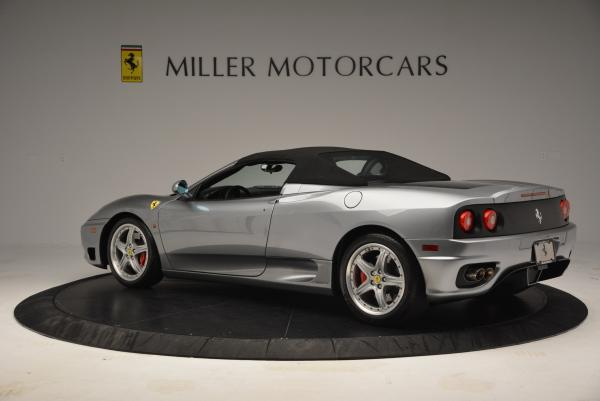 Used 2004 Ferrari 360 Spider 6-Speed Manual for sale Sold at Alfa Romeo of Greenwich in Greenwich CT 06830 16