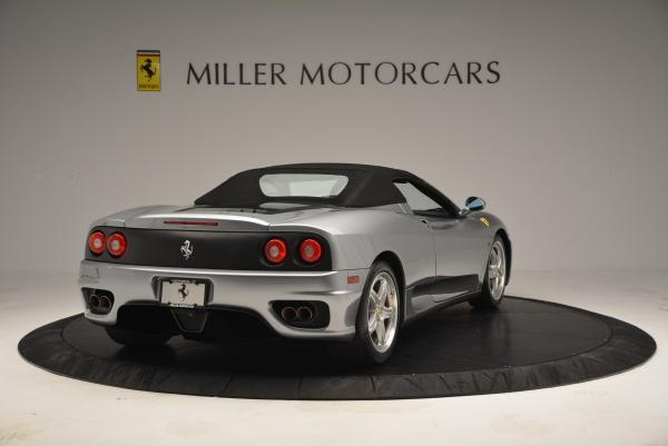 Used 2004 Ferrari 360 Spider 6-Speed Manual for sale Sold at Alfa Romeo of Greenwich in Greenwich CT 06830 19