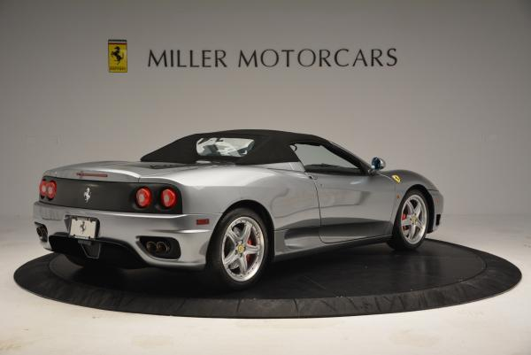 Used 2004 Ferrari 360 Spider 6-Speed Manual for sale Sold at Alfa Romeo of Greenwich in Greenwich CT 06830 20