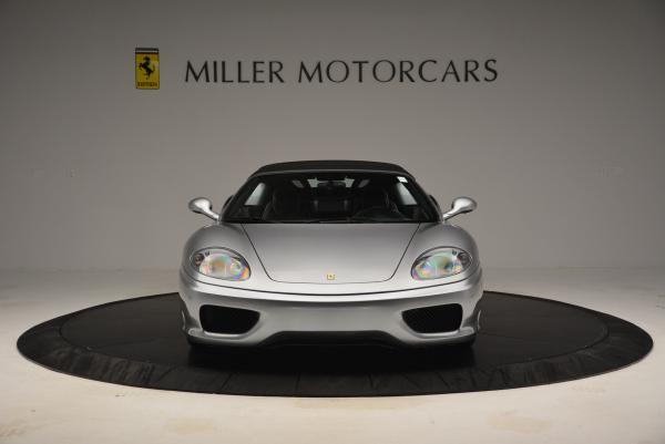 Used 2004 Ferrari 360 Spider 6-Speed Manual for sale Sold at Alfa Romeo of Greenwich in Greenwich CT 06830 24