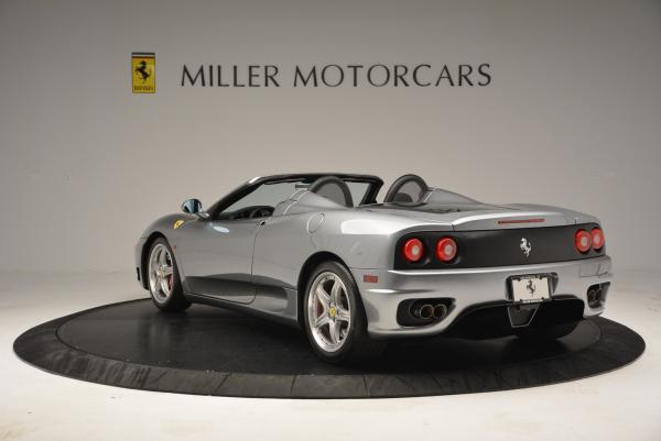 Used 2004 Ferrari 360 Spider 6-Speed Manual for sale Sold at Alfa Romeo of Greenwich in Greenwich CT 06830 5